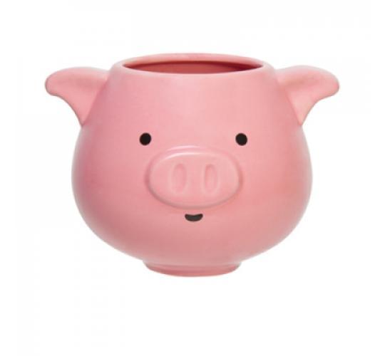Pig Shaped Farm Animal Ceramic Novelty Coffee Tea Cup Mug