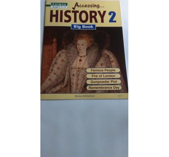 FOLENS ACCESSING HISTORY BIG BOOK 2