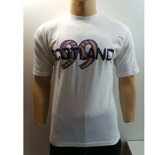 One Off Joblot of 21 Mens Scotland '99 T-Shirts Flower of Scotland Medium/Large
