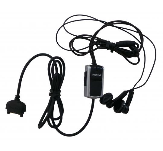 Wholesale Joblot of 50 Nokia Hands Free Headset Black Headphones HS-23