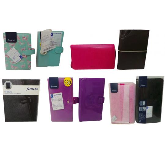 One Off Joblot of 26 Assorted Filofax File Organisers Customer Returns