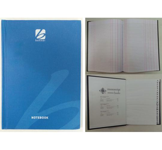 One Off Joblot Of 52 A5 & A4 Casebound Notebooks Indexed, Ruled And Double Cash