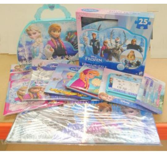 Mixed Disney Frozen Stationery & Toys