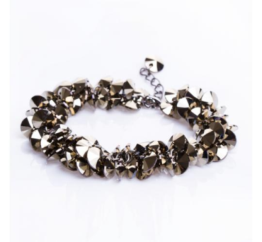 VIS Moment, Lucerne - 10x Swarovski Crystal Dorado Bracelet RRP-£450