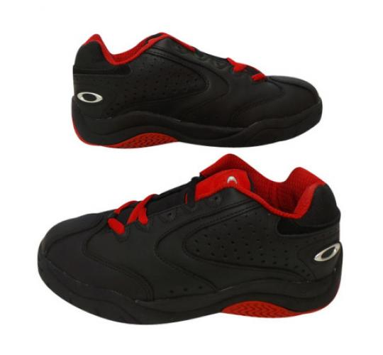 Oakley Men's Sourdough Athletic Running Shoes Black/Red