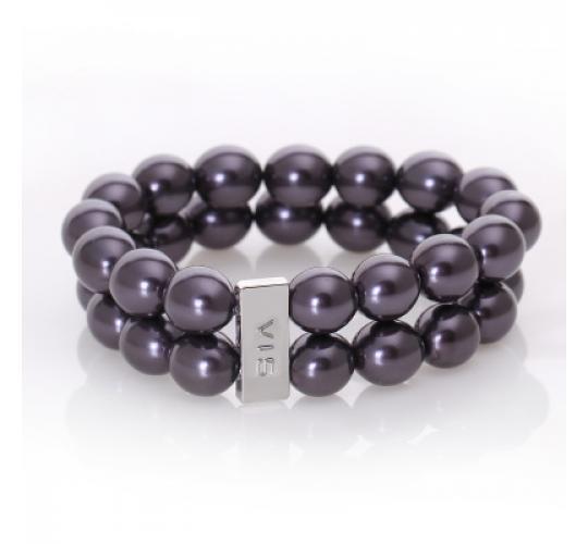 VIS Moment, 40x Fiji -Bronze Glass Pearl Bracelet, RRP: £840