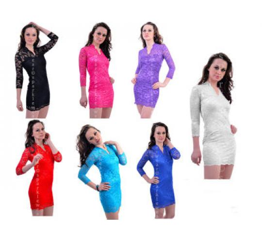 50 x Stylish  body hugging dresses and skirt with crop tops