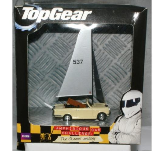9 cases - 3 versions of Top Gear Channel Crossing models