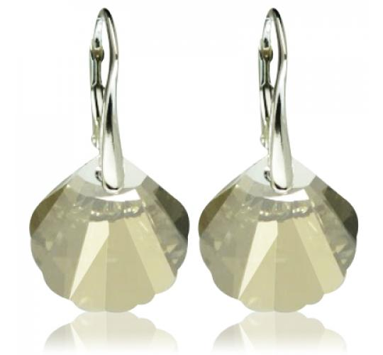 Sterling silver earrings with Swarovski elements from JewelryB