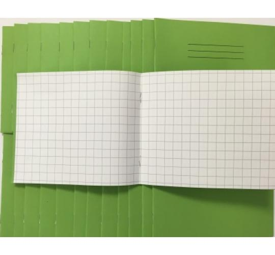 Squared Paper Notebook 10mm 24 Page 138x165mm