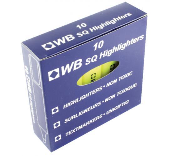 HiGlo yellow highlighter 10pk x 50