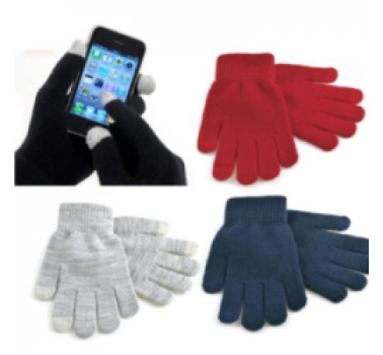 Ladies Touch Screen Gloves - One Off Wholesale Lot - Choice Of Colours - New