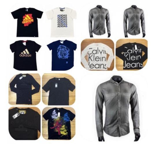 Mens T-shirts CK - Hugo Boss -Diesel - Adidas