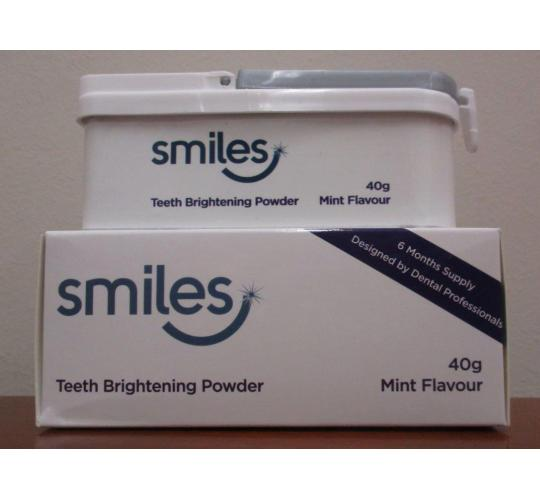 Wholesale Joblot of 20 Smiles Weekly Teeth Brightening Powder 40g 6 Month Supply