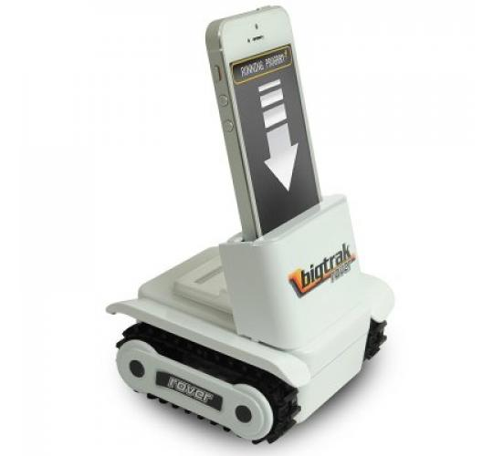 Bigtrak Rover Looks of Smash Hit 80 's Smartphone-Controlled Toy Rover