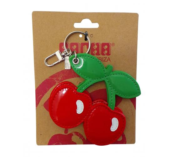 One Off Joblot of 33 Pacha Genuine Leather Cherry Luggage Tags Red CJK093