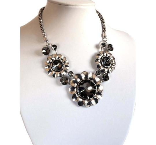 Joblot of 6 lines Assorted Chunky Metal Necklaces