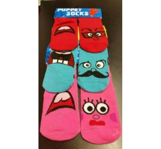 48 pairs of childrens puppet socks
