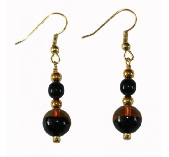 Bellissi Murano Glass Luna Earrings