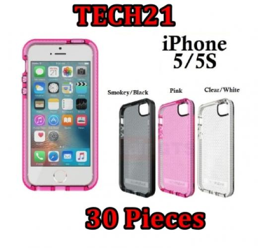 30 x iPhone 5 5S Se Tech 21 mobile Phone Cover Case