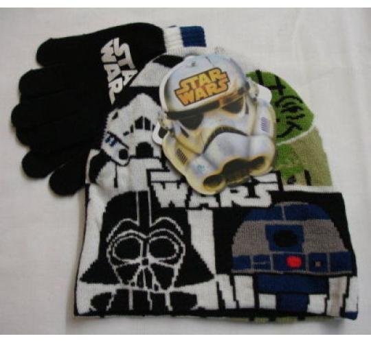 Official Star Wars Beanie & Glove Set - Infants