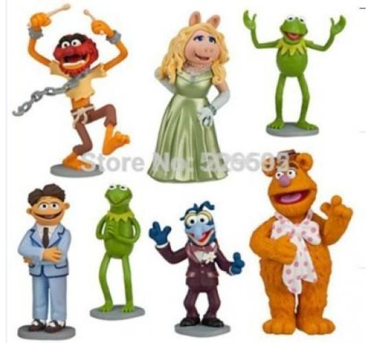 Muppets Cake Toppers - Set of 7 - Wholesale Job Lot - Big Earning Potential