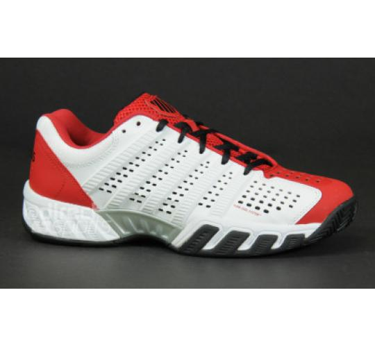 K-Swiss Big Shot 2.5 Trainers Red/White Clearance