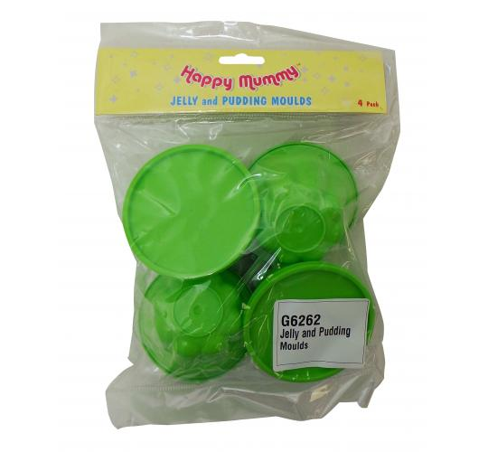 Wholesale Joblot of 72 Packs of 4 Happy Mummy Jelly and Pudding Moulds