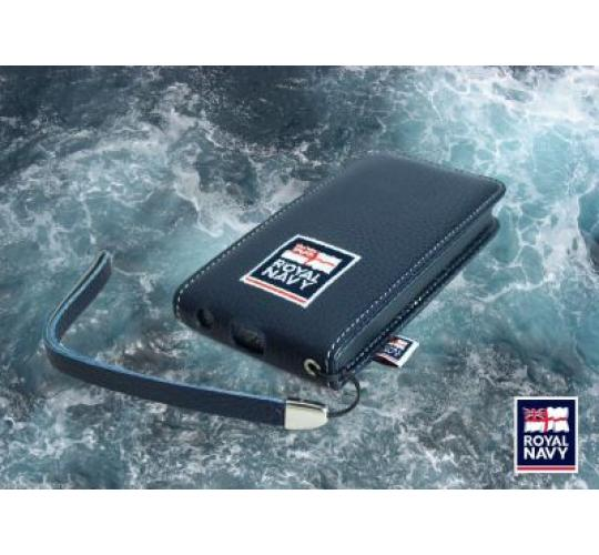 Official Royal Navy iPhone 5/5s Leather Flip ase