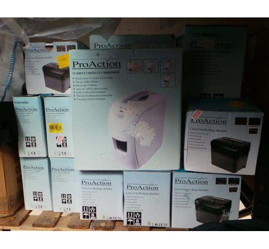 One Off Joblot of 41 Assorted Paper Shredders Pro Action & Fellowes