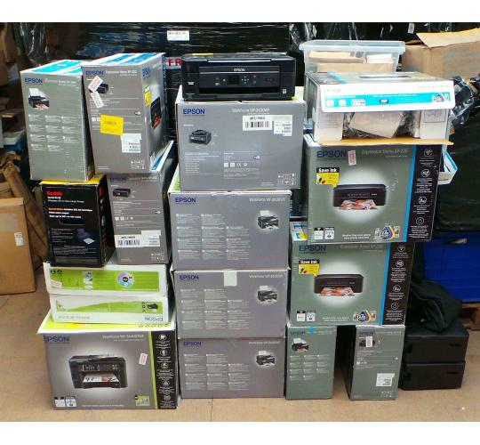 Joblot of 20 Printers Assorted Models Epson & Kodak Home & Workforce
