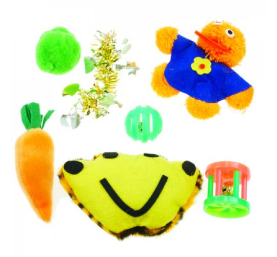 cat toys set 6 pcs. | pets