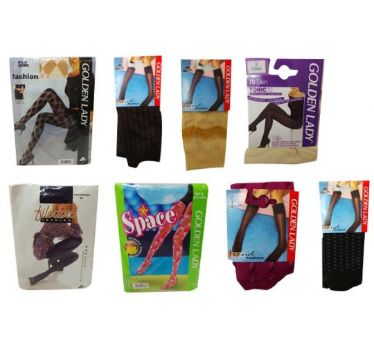 Wholesale Joblot of 50 Assorted Ladies Tights Good Number of Styles Included