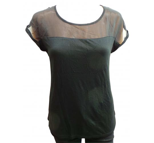 4266360459 Wholesale Joblot of 100 Ladies De-Branded Black Blouse Tops Good Mix of  Sizes