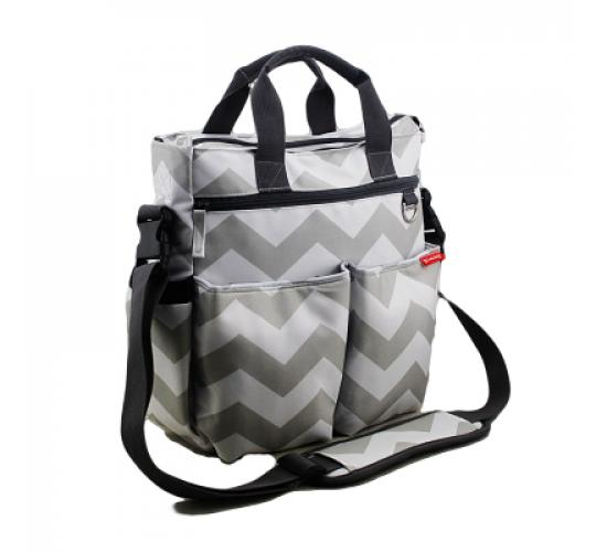 Premium Stylish Chevron Tote Bags for Moms