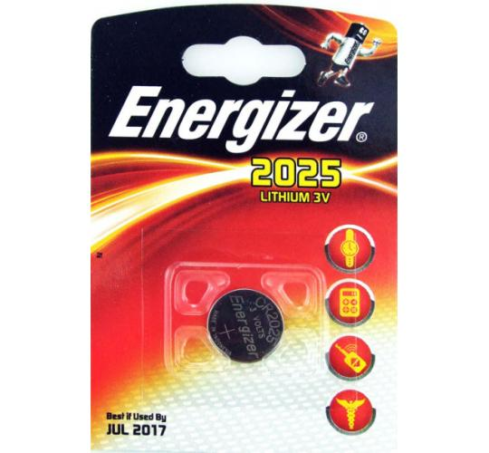 Energizer 2025 Lithium 3V Battery Watches/Calculators