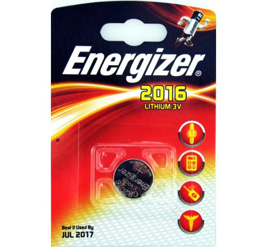 Energizer 2016 Lithium 3V Batttery Car Keys Fobs Card Reader