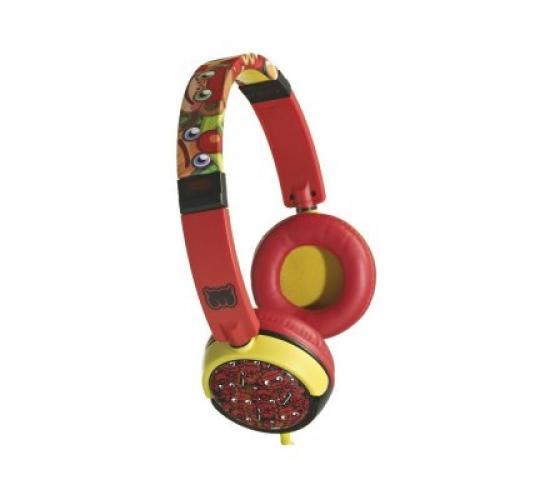 30 x Official Licensed Moshi Monsters Kids Headphones Earphones Red