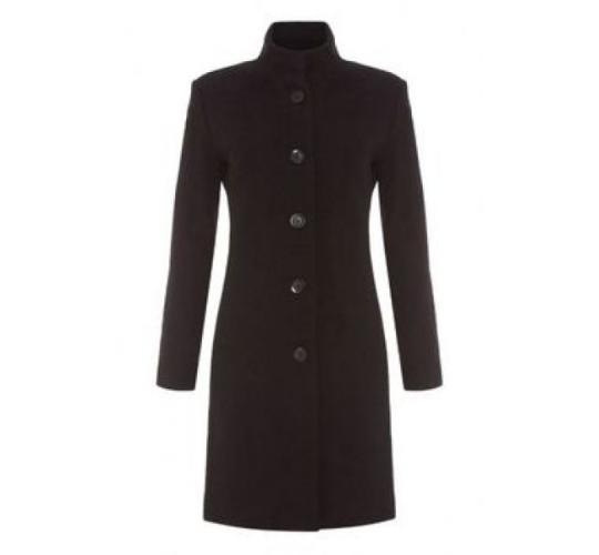 Woolen Coat Job Lot - Size 14 - Black