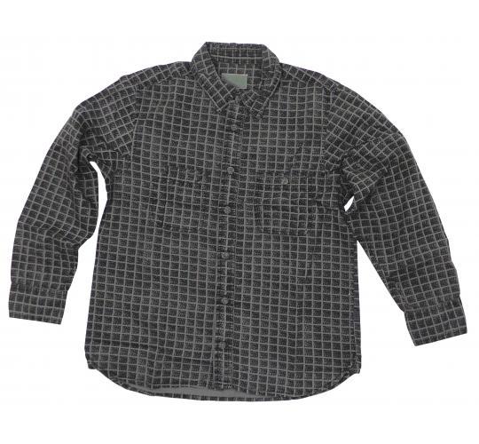 Wholesale Joblot of 10 Boys De-Branded Converse Vintage Grey Check Shirts