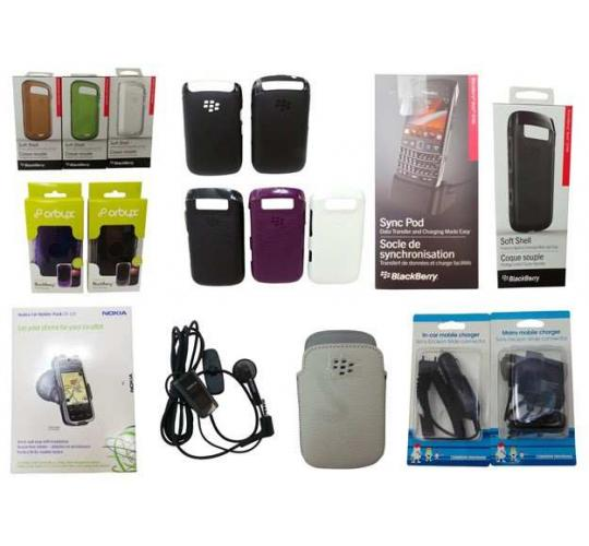 Wholesale Joblot of 1000 Mobile Phone Cases, Chargers, Screen Protectors ETC