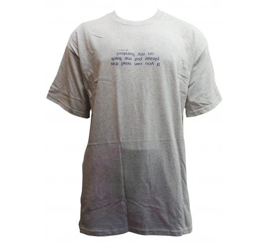 Wholesale Joblot of 10 Mens 'If You Can Read This...' Grey T-Shirts XL