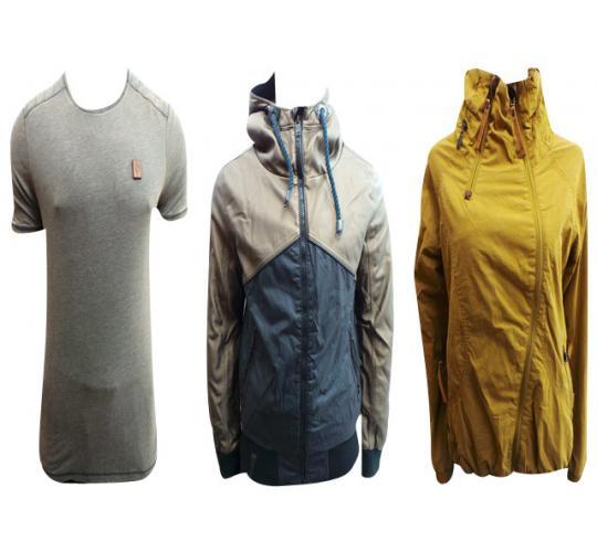 Joblot of 4 Naketano Mens & Womens Clothing Jackets & Tops Sizes M & L