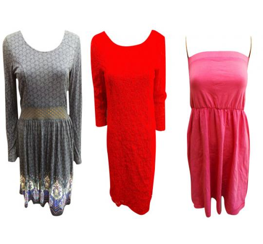 Wholesale Joblot of 20 Assorted Ladies Dresses Good Mix of Designs/Sizes