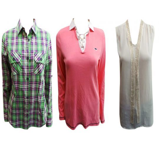 Wholesale Joblot of 20 Assorted Ladies Tops Huge Range of Styles/Sizes