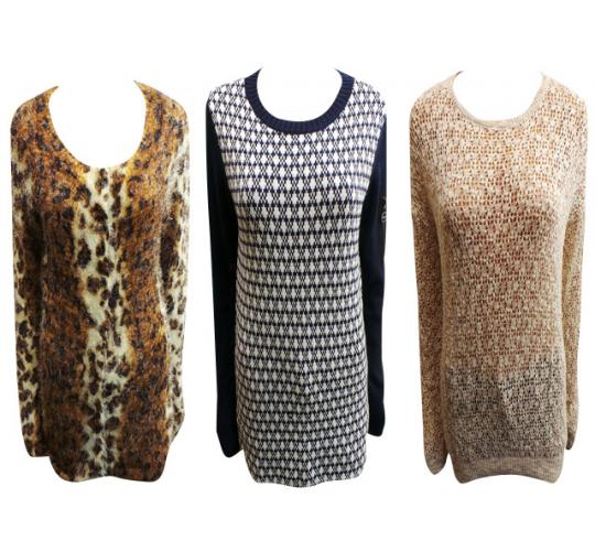 Wholesale Joblot of 20 Assorted Ladies Jumpers Jackets & Cardigans
