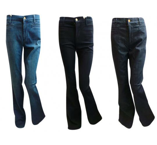 One Off Joblot of 7 Ladies MiH Jeans Marrakesh Kick Flare 3 Colours Sizes 25-30""