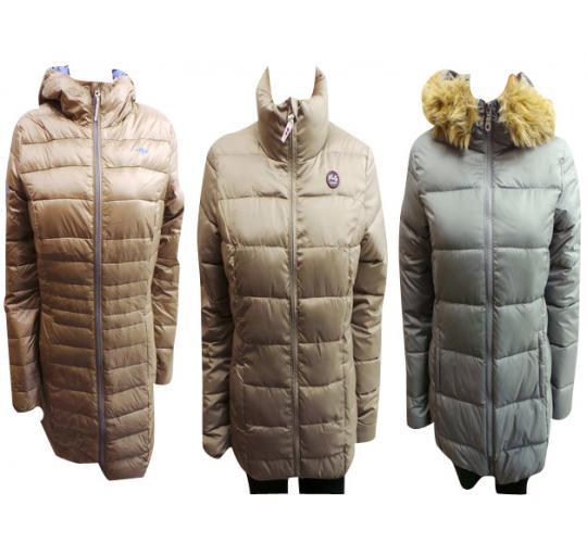 One Off Joblot of 5 Ladies Puffa Coats KangaROOS, Boysens & FLG Sizes 8-12