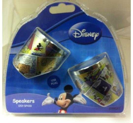 Wholesale lot of 12 Official Disney Mickey Mouse Portable USB Speakers for PC Laptop MP3 DSY SP430