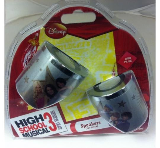 Wholesale lot of 40 x Official Disney High School Musical 3 PC Laptop USB Plug Portable Speakers DSY SP442